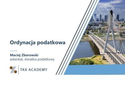 Ordynacja podatkowa