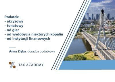 Podatek akcyzowy iinne